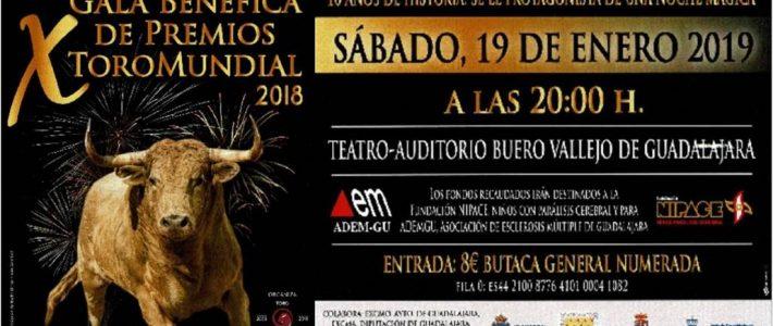 X Gala Benéfica de Premios ToroMundial 2018