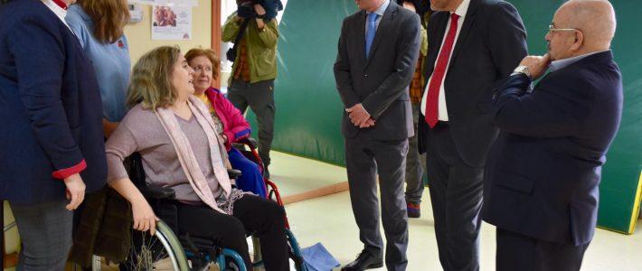 Visita del vicepresidente del Gobierno de Castilla-La Mancha