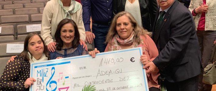 Éxito del concierto solidario de Nati Baldominos