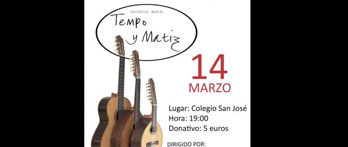 """Concierto """"Tempo y Matiz"""" a beneficio de ADEMGU"""